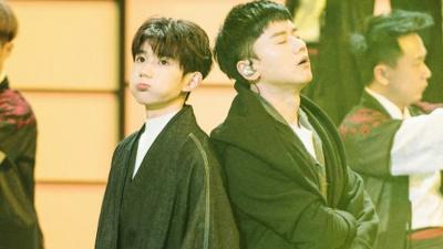 好汉歌 (Live) - 张杰,王源