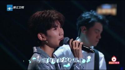 明天过后 (Live) - 张杰,王源