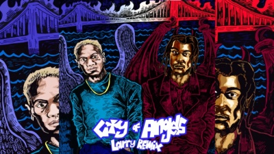 CITY OF ANGELS (Larry Remix) - 24kGoldn,Larry