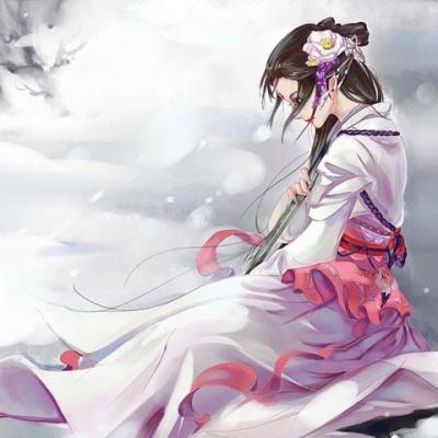 春景古风手绘图