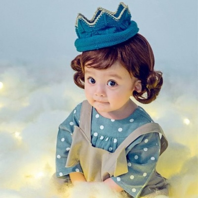 天真可爱的娃娃图片